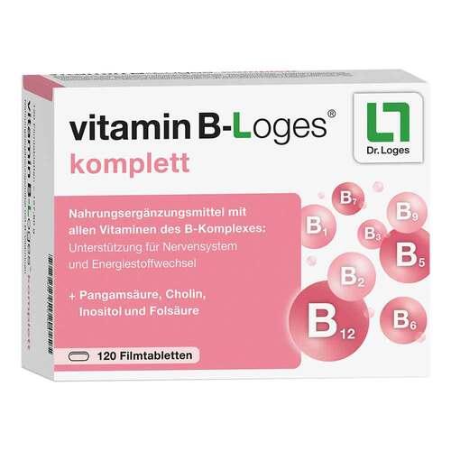 Vitamin B-loges komplett Filmtabletten - 1