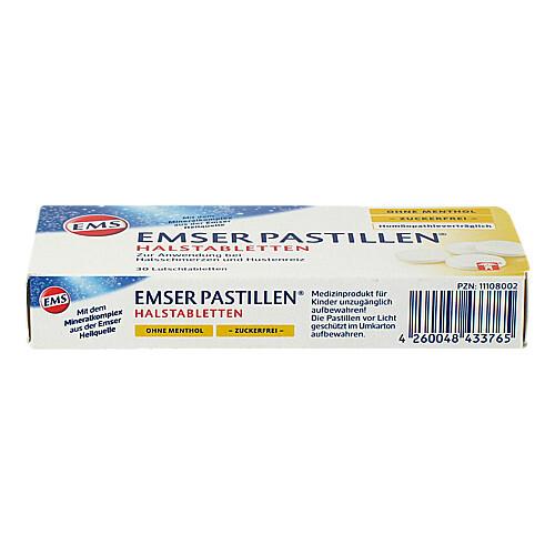 Emser Pastillen ohne Menthol zuckerfrei - 4