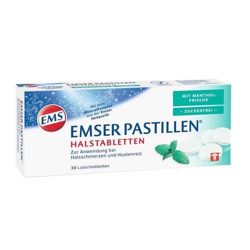 Emser Pastillen mit Mentholfrische zuckerfrei - 1