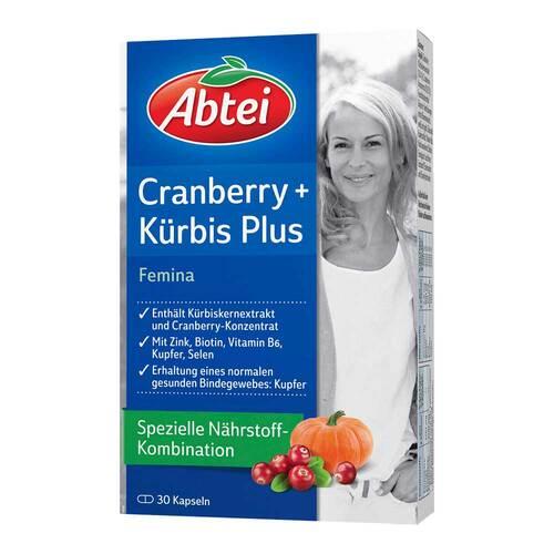 Abtei Kürbis Plus Cranberry Kapseln - 1