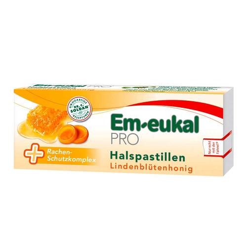 Em-eukal Pro Halspastillen Lindenblütenhonig - 1