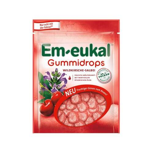 Em-eukal Gummidrops Wildkirsche-Salbei zuckerhaltig - 1