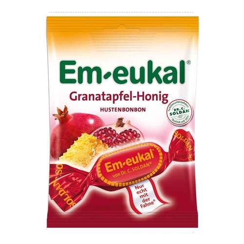 Em-eukal Hustenbonbons Granatapfel-Honig zuckerhaltig - 1
