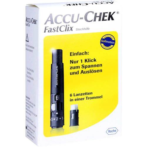 Accu Chek Fastclix Modell II - 1