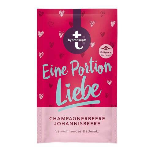 t by tetesept Badesalz Eine Portion Liebe - 1