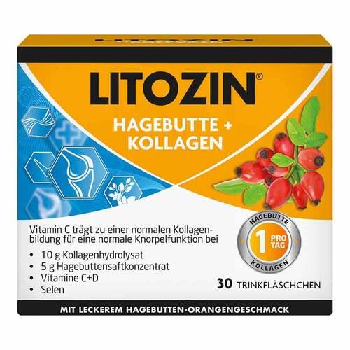 Litozin Hagebutte + Kollagen Trinkfläschchen - 1
