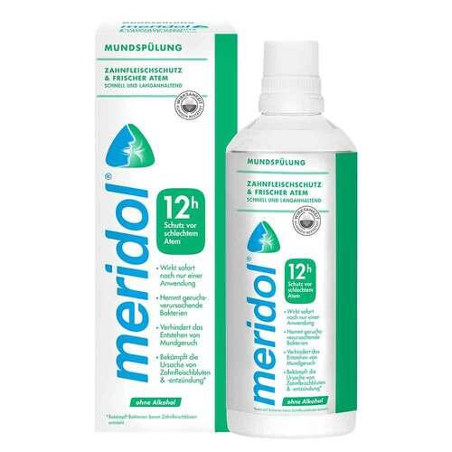 Meridol sicherer Atem Mundspülung - 1