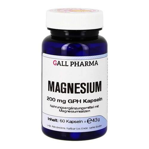 Magnesium 200 mg GPH Kapseln - 1