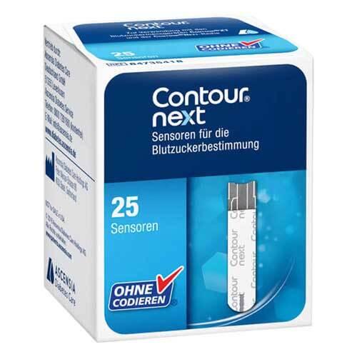 Contour next Sensoren Teststreifen zur Blutzuckerbestimmung - 1