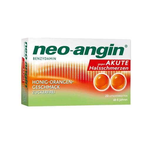 neo-angin Benzydamin gegen akute Hasschmerzen Honig Orange - 1