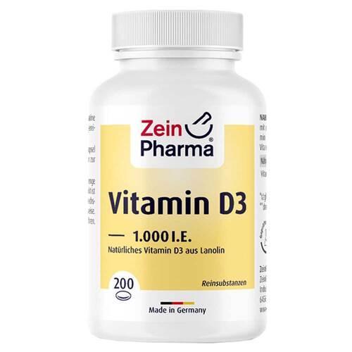 Vitamin D3 1.000 I.E. Kapseln - 1