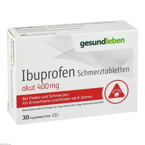 Ibuprofen Schmerztabletten 400 mg Filmtabletten - 1