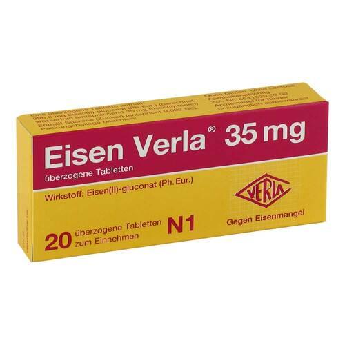 Eisen Verla 35 mg überzogene Tabletten - 1