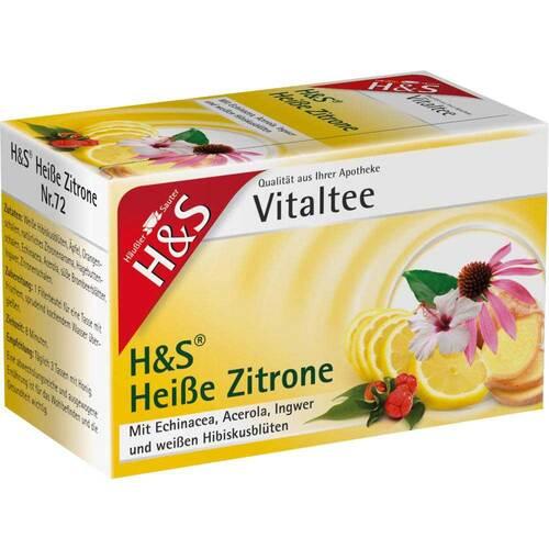 H&S Heiße Zitrone Vitaltee Filterbeutel - 2