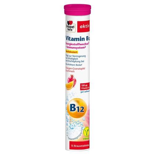 Doppelherz Vitamin B12 Brausetabletten - 1