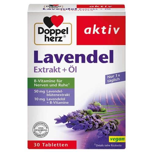 Doppelherz Lavendel Extrakt + Öl Tabletten - 1