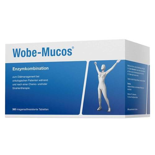 Wobe-Mucos magensaftresistente Tabletten - 1