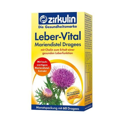 Zirkulin Leber-Vital Mariendistel Dragees - 1