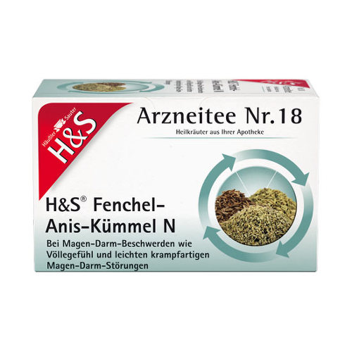 H&S Fenchel-Anis-Kümmel N Filterbeutel - 1