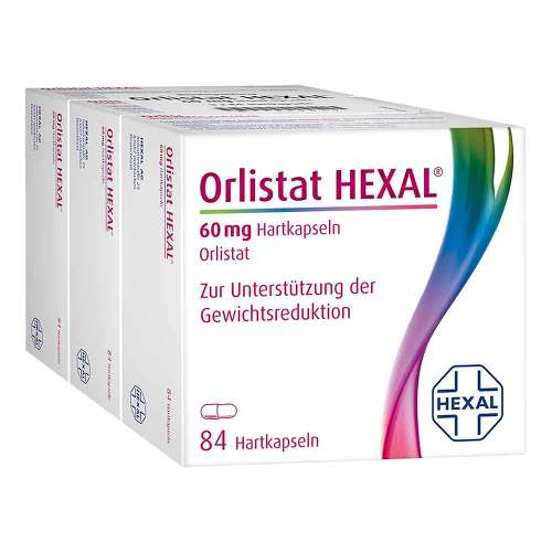 Orlistat Hexal 60 mg Hartkapseln - 1