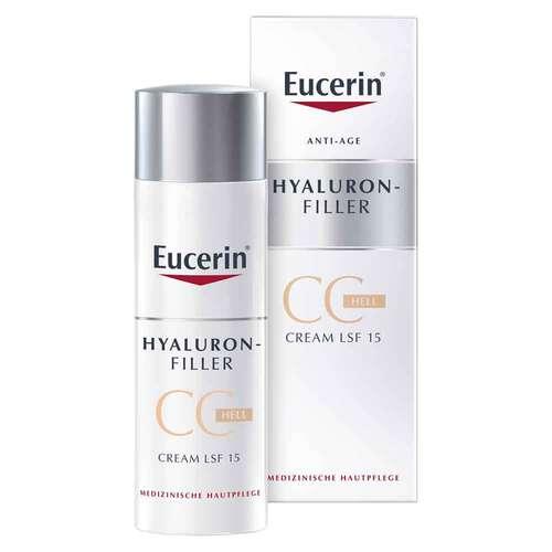 Eucerin Hyaluron-Filler CC Cream hell mit LSF 15 - 1