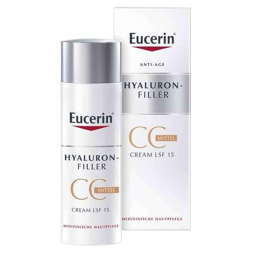 Eucerin Hyaluron-Filler CC Cream mittel mit LSF 15 - 1