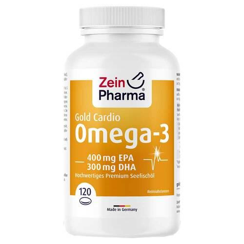 Omega-3 Gold Herz DHA 300mg / EPA 400mg Softgelkapseln  - 1