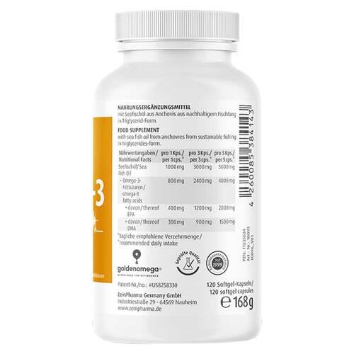 Omega-3 Gold Herz DHA 300mg / EPA 400mg Softgelkapseln  - 3