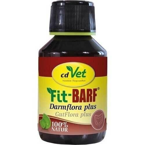 Fit-Barf Darmflora plus flüssig für Hunde und Katzen - 1