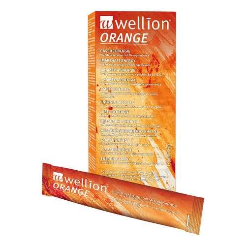 Wellion Orange Invertzuckersirup Beutel - 1