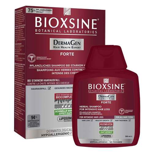 Bioxsine DG Forte gegen Haarausfall Shampoo - 1