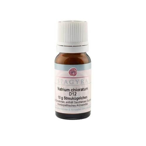 Natrium chloratum D 12 Globuli - 1