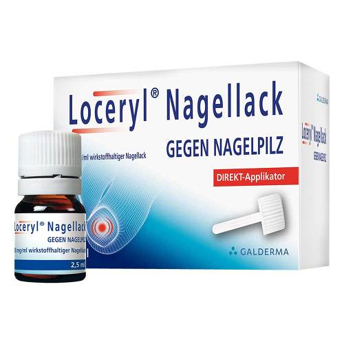 Loceryl Nagellack gegen Nagelpilz Direkt-Applikator - 1