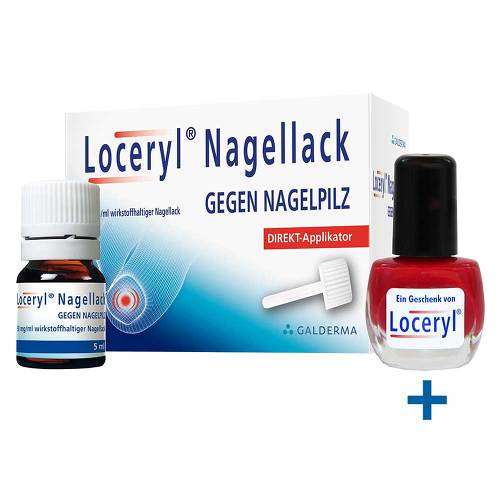 Loceryl Nagellack gegen Nagelpilz Direkt-Applikator