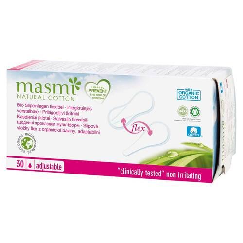 Bio Slipeinlagen Flex 100% Bio Baumwolle Masmi - 1