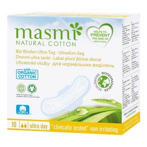 Bio Binden Ultra Tag 100% Bio Baumwolle Masmi - 1