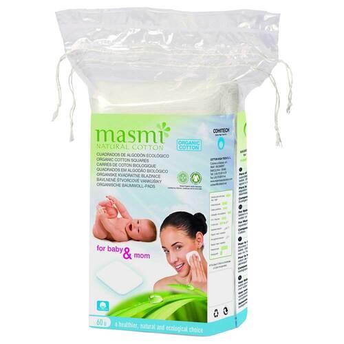 Bio Reinigungspads 100% Bio Baumwolle Masmi - 1