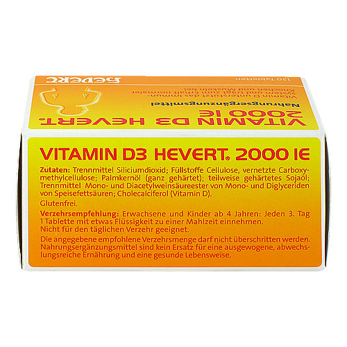 Vitamin D3 Hevert 2.000 I.E. Tabletten - 2