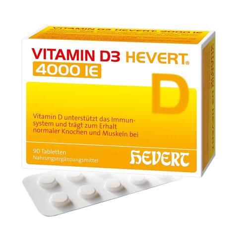 Vitamin D3 Hevert 4.000 I.E. Tabletten - 1