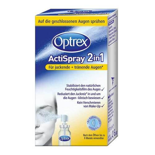 Optrex Actispray 2in1 für juckende + tränende Augen - 1