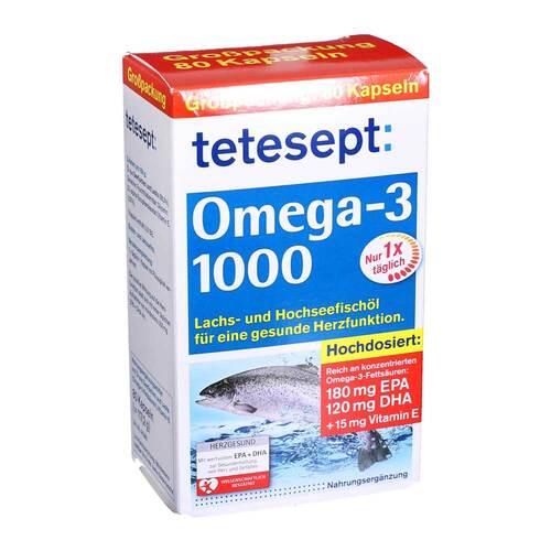 Tetesept Omega-3 1000 Kapseln - 1
