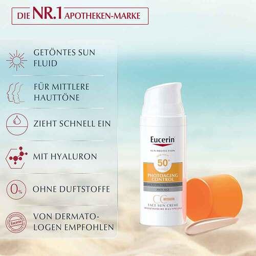 Eucerin Sun CC Creme getönt mittel LSF 50 +  - 3
