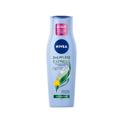 NIVEA Pflegeshampoo 2in1 Pflege Express - 1