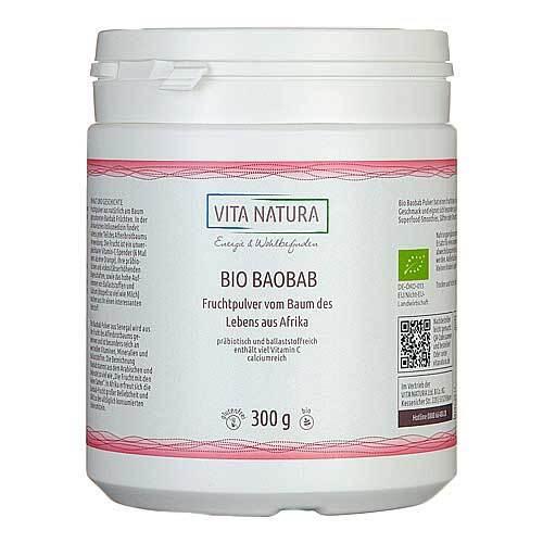 Baobab Fruchtpulver Bio - 1