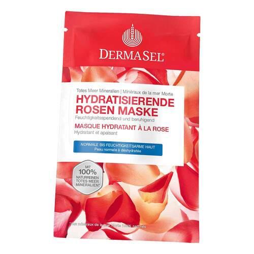Dermasel Spa Totes Meer Hydratisierende Rosen Maske - 1