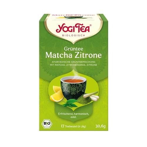Yogi Tea Grüntee Matcha Zitrone Filterbeutel - 1
