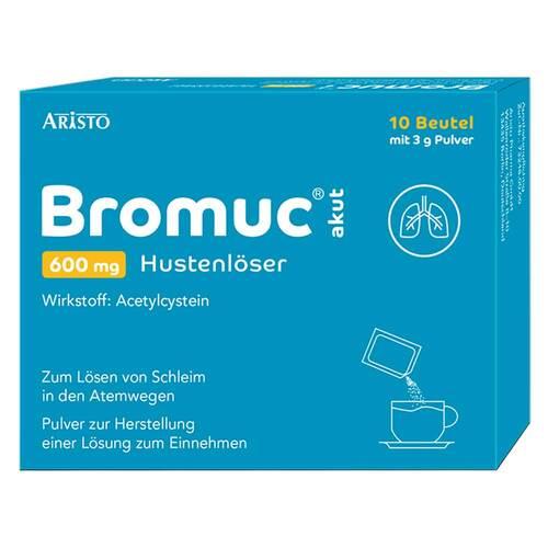 Bromuc akut 600 mg Hustenlöser Pulver zur Herstellung einer Lösung zum Einnehmen  - 1