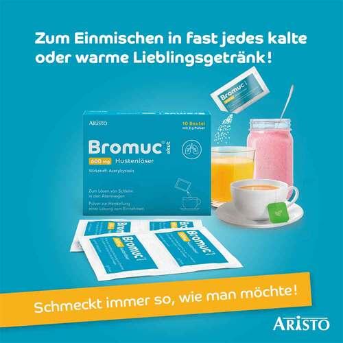 Bromuc akut 600 mg Hustenlöser Pulver zur Herstellung einer Lösung zum Einnehmen  - 2