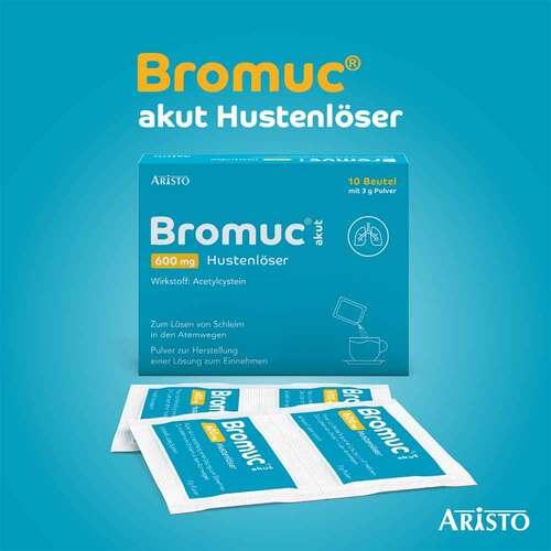 Bromuc akut 600 mg Hustenlöser Pulver zur Herstellung einer Lösung zum Einnehmen  - 3