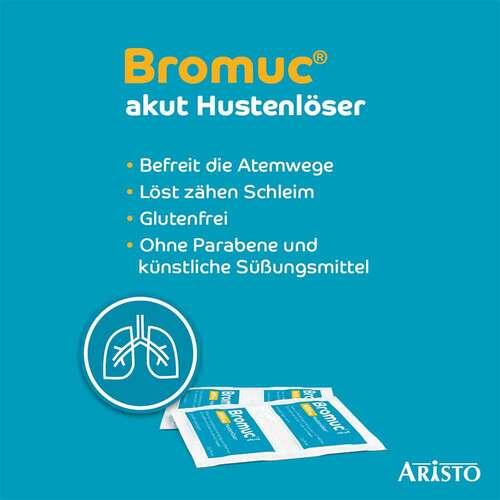 Bromuc akut 600 mg Hustenlöser Pulver zur Herstellung einer Lösung zum Einnehmen  - 4